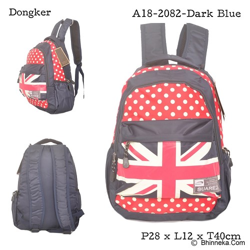 YOUNG SOUL Ransel [A18-2082] - Dark Blue - Backpack Wanita